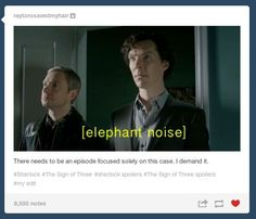 "THERE WAS JUST SO MUCH GOING ON. | Tumblr Reacts To ""Sherlock's"" ""The Sign Of Three"""