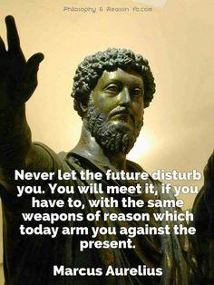 Marcus Aurelius on the Future