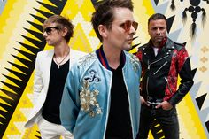 """Chris Wolstenholme, Matt Bellamy and Dom Howard (Photo by Jeff Forney)       """"Dig Down"""" new single coming 18 May pic.twitter.com/k..."""