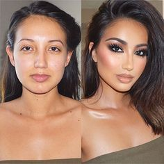 Power of makeup 😍