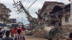 """A magnitude-7.8 earthquake centered less than 50 miles from Kathmandu <a href=""""http://www.cnn.com/2015/04/25/asia/nepal-earthquake-7-5-magnitude/index.html"""" target=""""_blank"""">rocked Nepal with devastating force</a> Saturday, authorities said."""