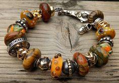 :-) Ooooh, amazing #Autumn bracelet! #trollbeads