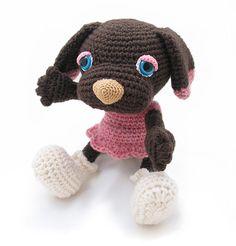 Amigurumipatterns.net - Brownie the dog - Zoomigurumi 2