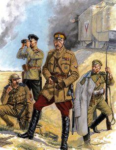 AFSR troops, Battle for Kiev, Russian Civil War