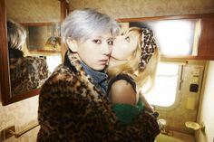 """Sexy mixed duo Trouble Maker is receiving a lot of attention with their new song """"Now."""" On October 28 at midnight, Trouble Maker released their second mini Hyuna And Hyunseung, Kim Hyuna, Trouble Maker Now, Guys And Girls, Kpop Girls, South Korean Girls, Korean Girl Groups, Jang Hyun Seung, Pop Photos"""