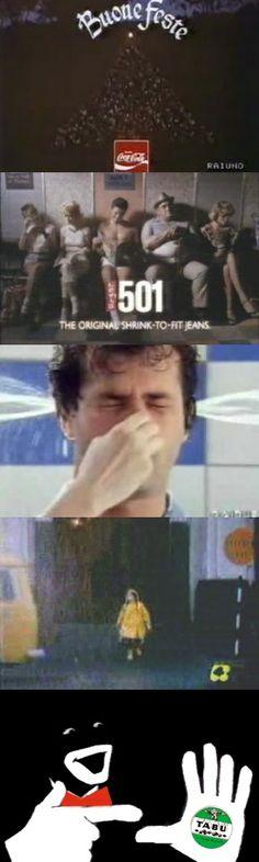 Cinque canzoni delle pubblicità più belle degli anni '80