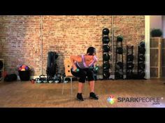 Seated Upper Body Toning Workout: Chair Strength Training Exercises