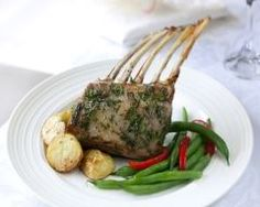 Gourmet Rack of Lamb - Green Mountain Grills Green Mountain Grills, Grill Rack, Wood Pellet Grills, Rack Of Lamb, 20 Min, Four, Asparagus, Steak, Grilling