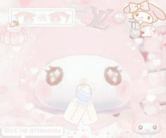 Baby Pink Aesthetic, Beige Aesthetic, Pink Themes, Anime Best Friends, Creepy Cute, Cute Icons, More Cute, Softies, Sanrio