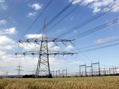 high-voltage transmission lines