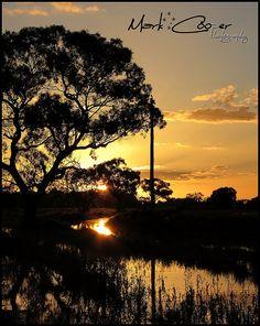 Sunset - Hay, NSW