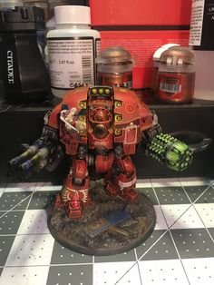 Blood Angels Leviathan Dread WIP update