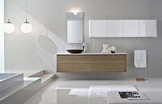 porcelanosa bano blanco (4) | Decorar tu casa es facilisimo.com