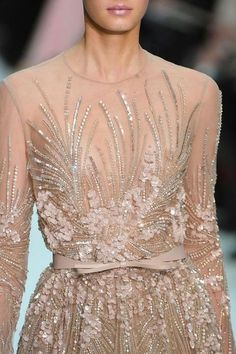 Beautiful beading and use of Sequins...