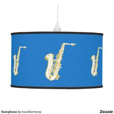 Saxophone Ceiling Lamps