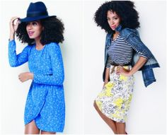 Madewell. I need both these outfits.