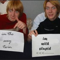 James and Oliver Phelps.