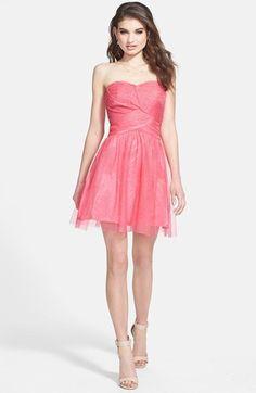 #Hailey Logan             #Dresses                  #Hailey #Logan #Glitter #Tulle #Party #Dress #(Juniors) #Geranium             Hailey Logan Glitter Tulle Party Dress (Juniors) Geranium 13                                            http://www.seapai.com/product.aspx?PID=4988357