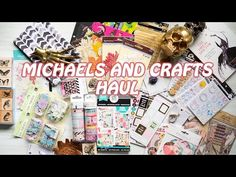 Huge Michaels and Craft Haul! Oct 2016