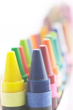 Make your own bathtub crayons!