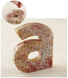 Decorate a plain letter shape and make a glitter, or jewel encrusted initial of their name to hang as wall art in their room.