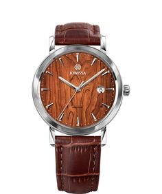 The best Swiss made watches for Men celebrate functionality and style. Swiss made men watches at an affordable price. High End Watches, Cool Watches, Watches For Men, Men's Watches, Stainless Steel Case, Luxury Watches, Quartz, Brown Wood, Bar