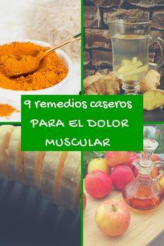 9 Remedios caseros para el dolor muscular