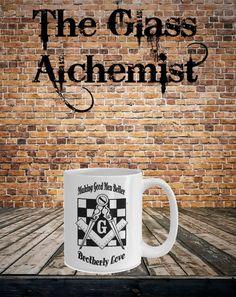 Making Good Men Better coffee Mug by TheGlassAlchemistUS on Etsy
