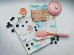 Birds of paradise/ Tea Towel/ Lisa-Marie Opitz Design