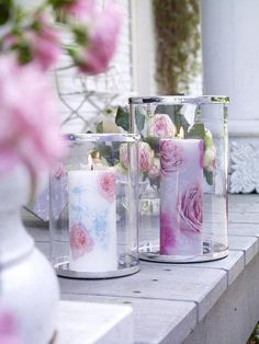 roses/candles