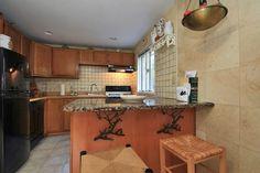 Interior of Home - Lower level #kitchen