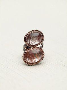 Free People Rosewater Stone Ring