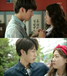 High School Love On  하이스쿨 - 러브온 EP02... Loving this Kdrama to death, funny and…