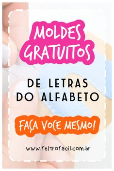 Faça você mesmo! Lindos enfeites decorativos em feltro! Acesse o site e salve GRATUITAMENTE centenas de moldes! #ArtesanatoemFeltro #ArtesanatoCriativo #Feltro Lettering Tutorial, Felt Crafts, Diy And Crafts, 21st Party, 3d Letters, Felt Patterns, Sewing Toys, Therapy Activities, Diy Paper