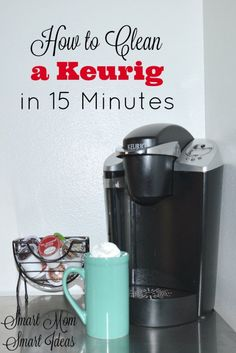 Think your Keurig is broken? Did you know you can clean your Keurig in just 15 minutes and make it work like new? Even if you think it will never brew coffee again, give this cleaning process a try. You might be surprised. Deep Cleaning Tips, House Cleaning Tips, Diy Cleaning Products, Cleaning Solutions, Spring Cleaning, Cleaning Hacks, Cleaning Schedules, Speed Cleaning, Cleaning Checklist