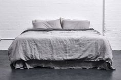 Grey Edit | Sleek Fashion & Homewares | In Bed - Linen Bedding