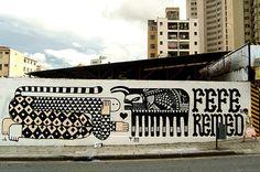 Subaquatica » Mural por Fefe Talavera y Remed