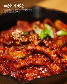 Korean Food, Korean Recipes, Chicken Wings, Chili, Soup, Beef, Baking, Kitchens, Food Food