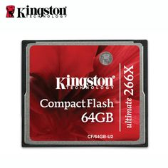 94.40$  Buy now - http://ali9mi.worldwells.pw/go.php?t=32660933450 - Kingston Original 266x carte memoria microSD card compactFlash drives sd card 64gb cf tarjeta cf kaart brand 94.40$