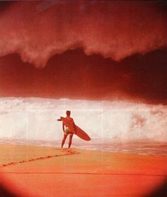 Charlie Galento, Pipeline, c1960s by John Severson for Surfer