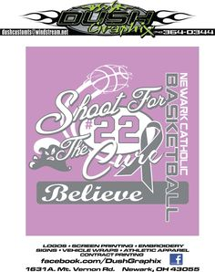 Shoot for the Cure Lauren Hill, Beacon Of Hope, The Cure