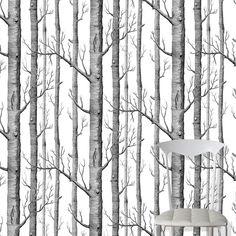 Femkeido behang inspiratie- zwart wit