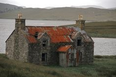 The Abandoned House By Calanais by Stuart Herbert  this is in Scotland... I have never been here before but I feel like I have.