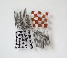 Marian Bijlenga, textile art, 2012