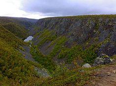 kevo canyon, utsjoki, finland