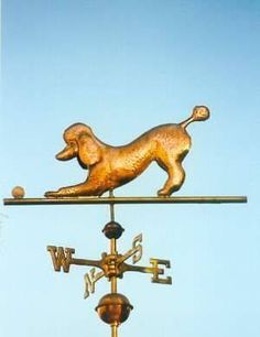 Poodle Weather Vane Poodles in all directions could you deal with it???