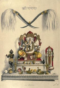 Figure 9. Frontispiece illustrating Fanny Park's collection of objects from the subcontinent. Wanderings of a Pilgrim in Search of the Picturesque, Vol. I (London: Pelham Richardson, 1850). https://archive.org/stream/wanderingsofpilg01parluoft#page/n5/mode/2up