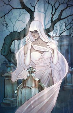 Ghost #0. Cover by Jenny Frison