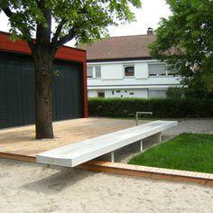 Kindertagesstätte der Oswaldgemeinde_Koeber_01 Drinking Fountain, Urban Furniture, Deck, Play, Sport, Landscape, Outdoor Decor, Home Decor, Gardens