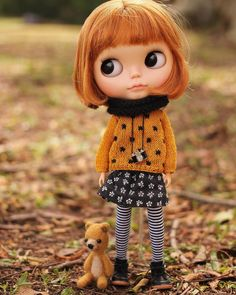 Autumn New collection on Etsy. #blythe #blythedoll #customblythe #lilitix #petitedoll